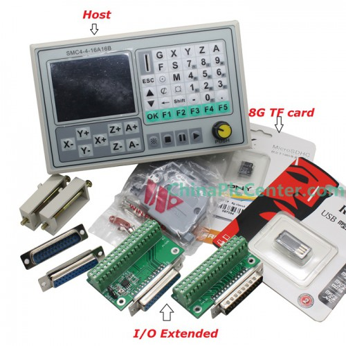 SMC4-4-16A16B Offline CNC Controller